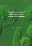 Thesis cover: Campylobacter jejuni strategies to evade hostile environments