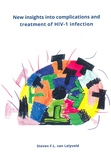 Thesis cover: New insights into complications and treatment of HIV-1 infection