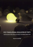 Thesis cover: Post-translational Regulation of Foxp3