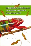 Thesis cover: Host adaptation mechanisms and transcriptional regulation in Campylobacter jejuni