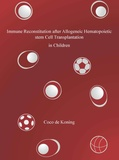 Thesis cover: Immune Reconstitution after Allogeneic Hematopoietic stem Cell Transplantation in Children