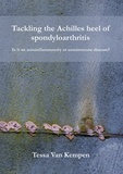 Thesis cover: Tackling the Achilles heel of spondyloarthritis
