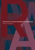 Thesis cover: Difficult-to-treat rheumatoid arthritis