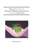 Thesis cover: Role of host factors regulating membrane homeostasis in enterovirus replication